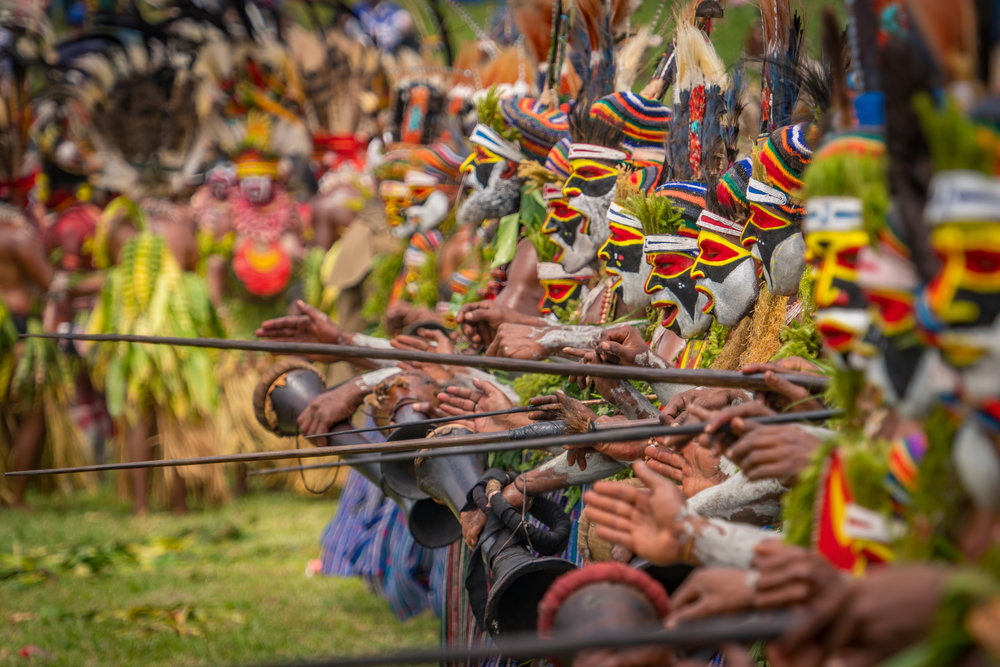 Mount Hagen Festival - One of the largest tribal festivals in the world in Papua New GuineaJuly 2018