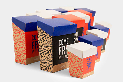 Take away chip packaging