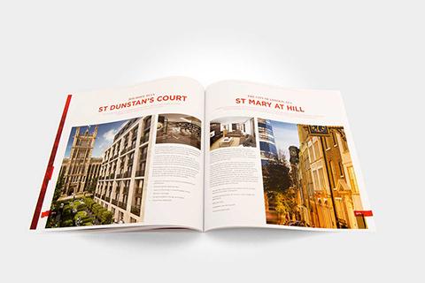Printed property prospectus