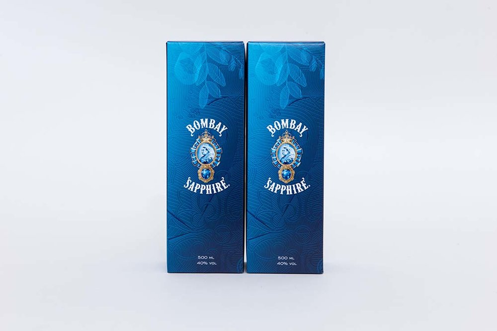 Metallic drinks packaging