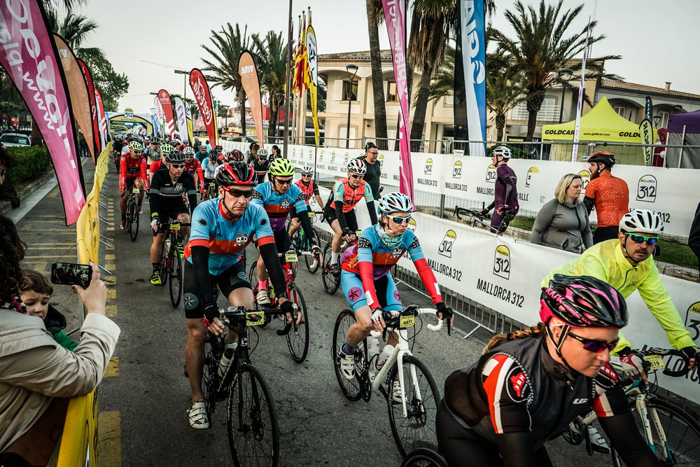 Mallorca 312 2018 - 5 Mighty BCC rode and completed the 312 KM within the 14 hour time limit