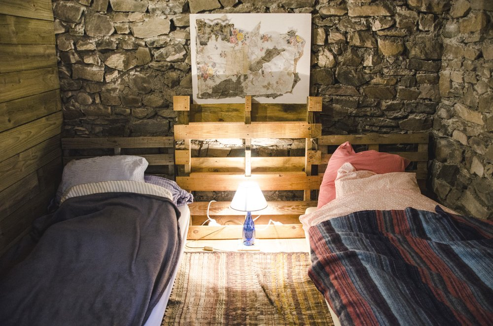 Our rooms    21 beds are located in magical corners of the renovated old barn - see the rooms here!
