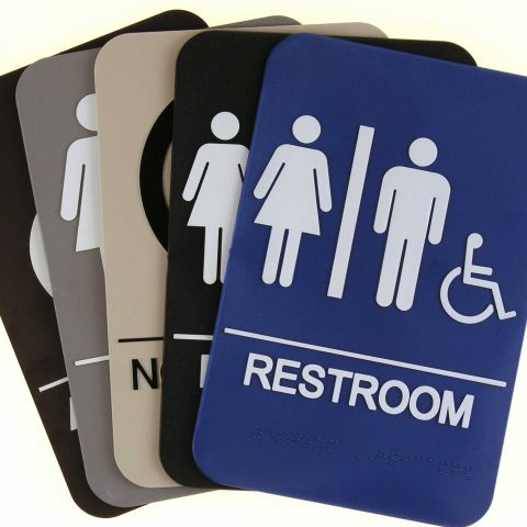 ARCHITECTURAL SIGNAGE WITH ADA COMPLIANT FEATURES