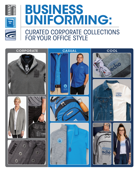 CUSTOM BUSINESS APPAREL TO OUTFIT  YOUR TEAM