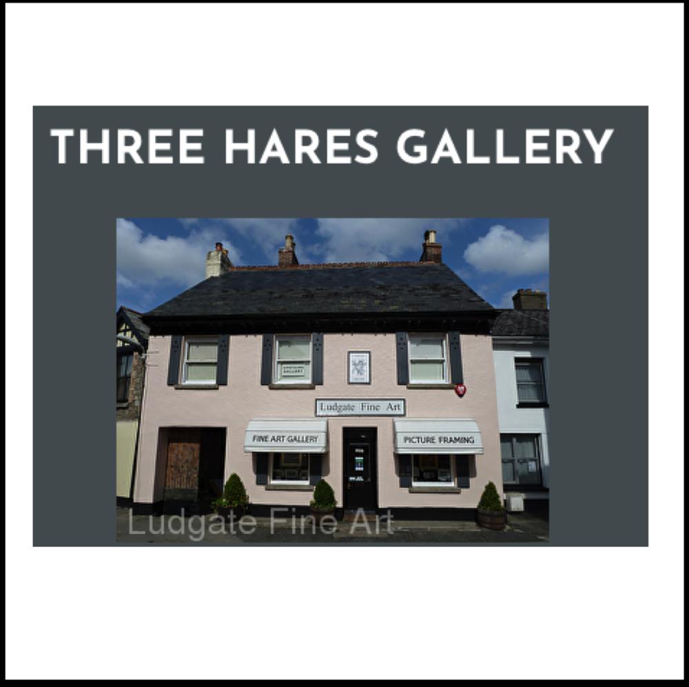 Ludgate Fine Art Gallery  'Three Hares Gallery'  Chagford, Devon