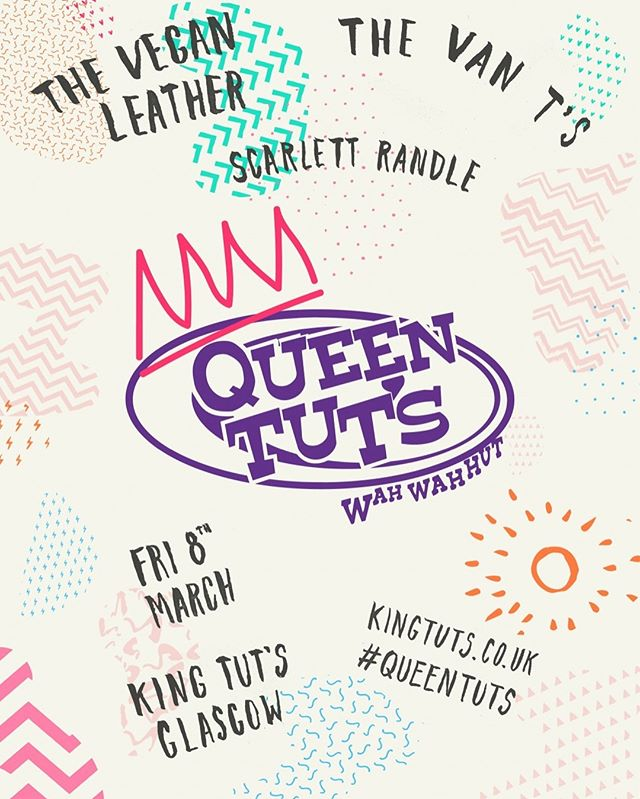 Very proud to be participating in an exciting panel as part of #queentuts  #iwd2019! Get free tickets: https://www.ticketweb.uk/event/queen-tuts-women-in-music-king-tuts-wah-wah-hut-tickets/9233645