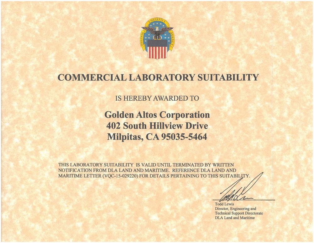 Golden-Altos-Lab-Suitability-Certificate-20151.jpg
