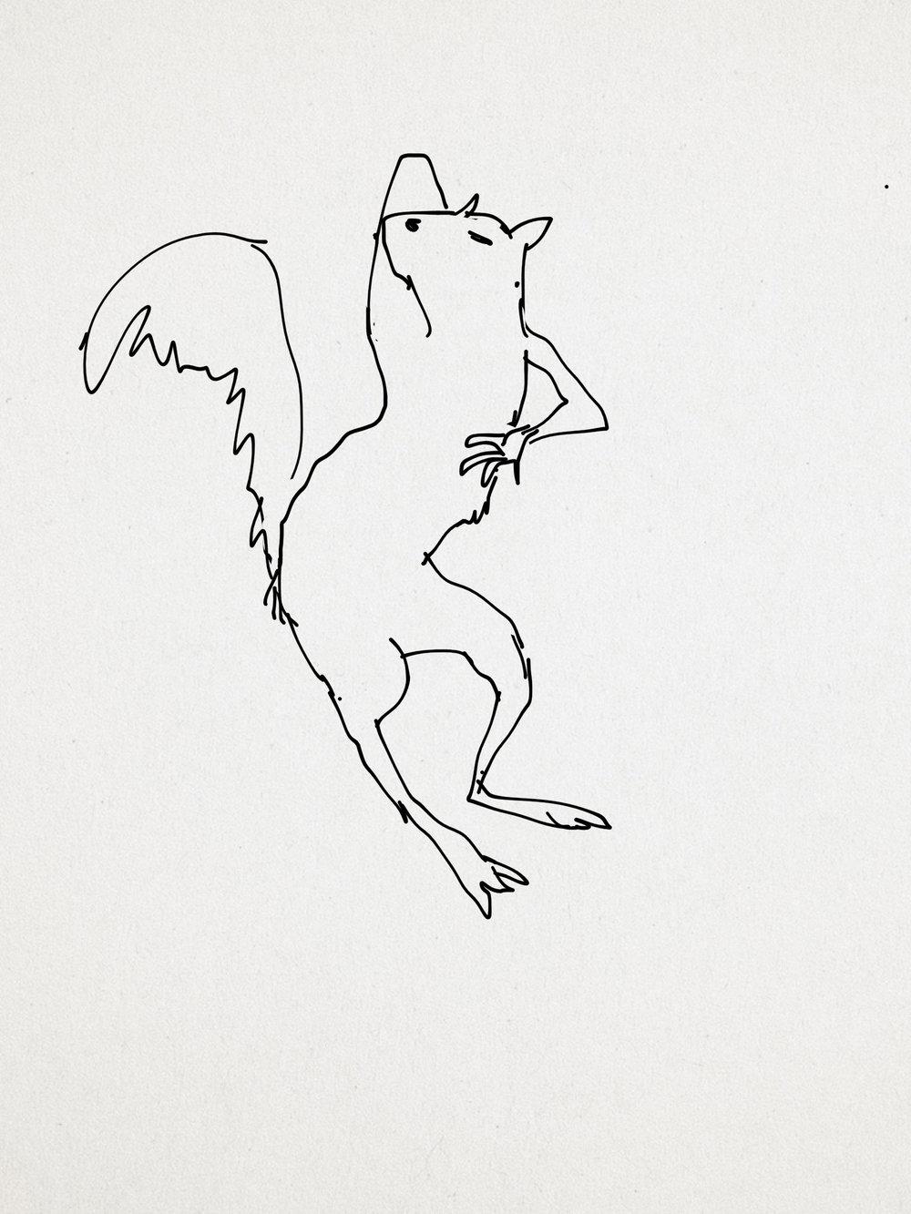 The Squirrel Walk pring Edition-2