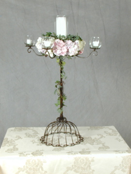 Centerpeice - 5 candle with floral wreath 3.jpg