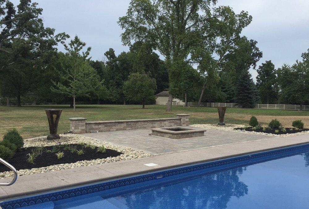 Custom pool decks in West Chester, OH
