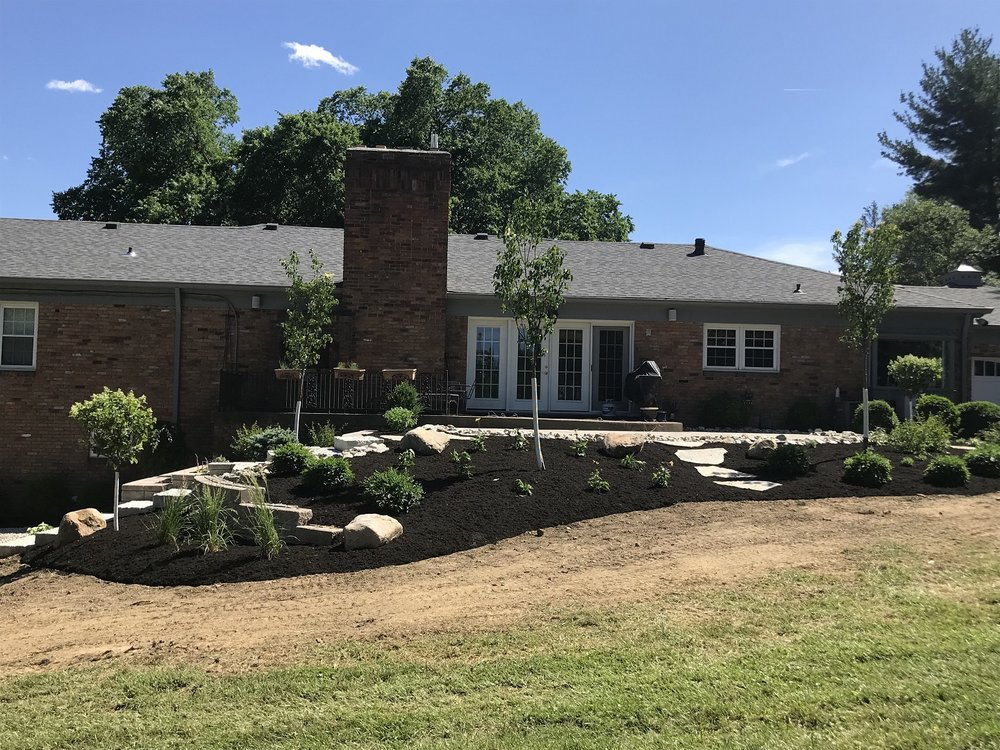 Landscape design and installation in West Chester, OH