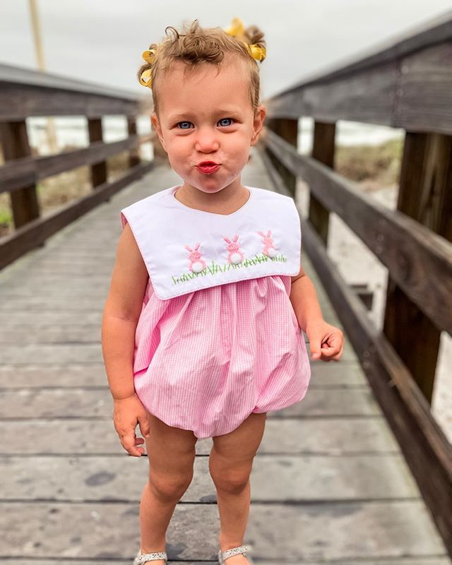 Kissy faces & curly hair 💗🐰 #dallaslively #2yearsold