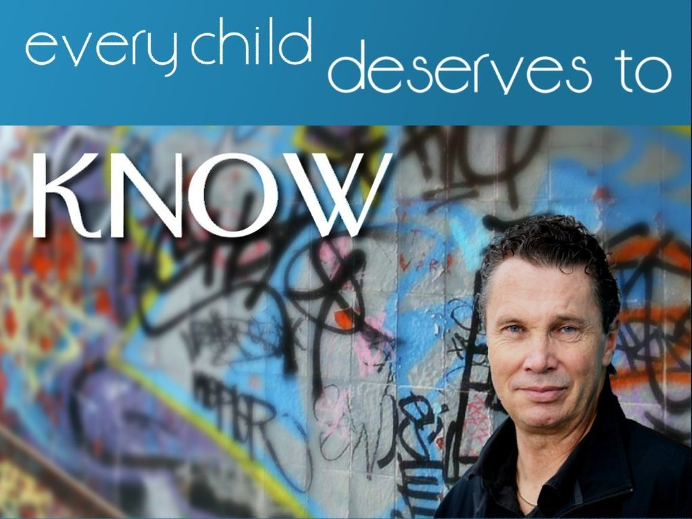 every child deserves to know - This book tells the amazing story of how God dramatically changed Graham Hanson's life so he could reach thousands more.