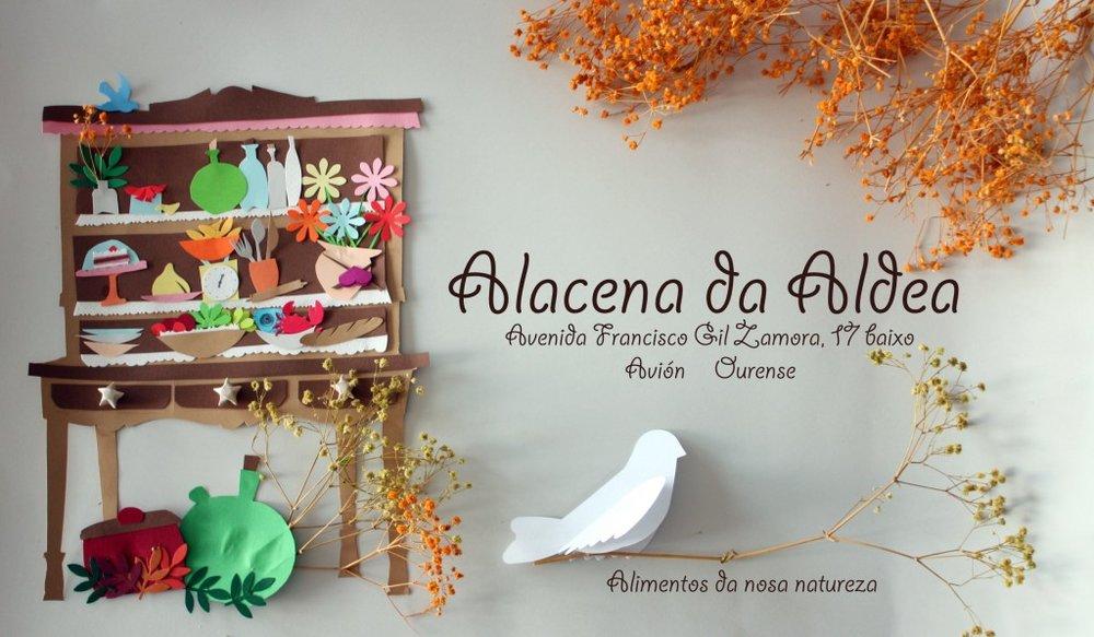 Alacena da Aldea, Avión. 2012. Imagen corporativa.