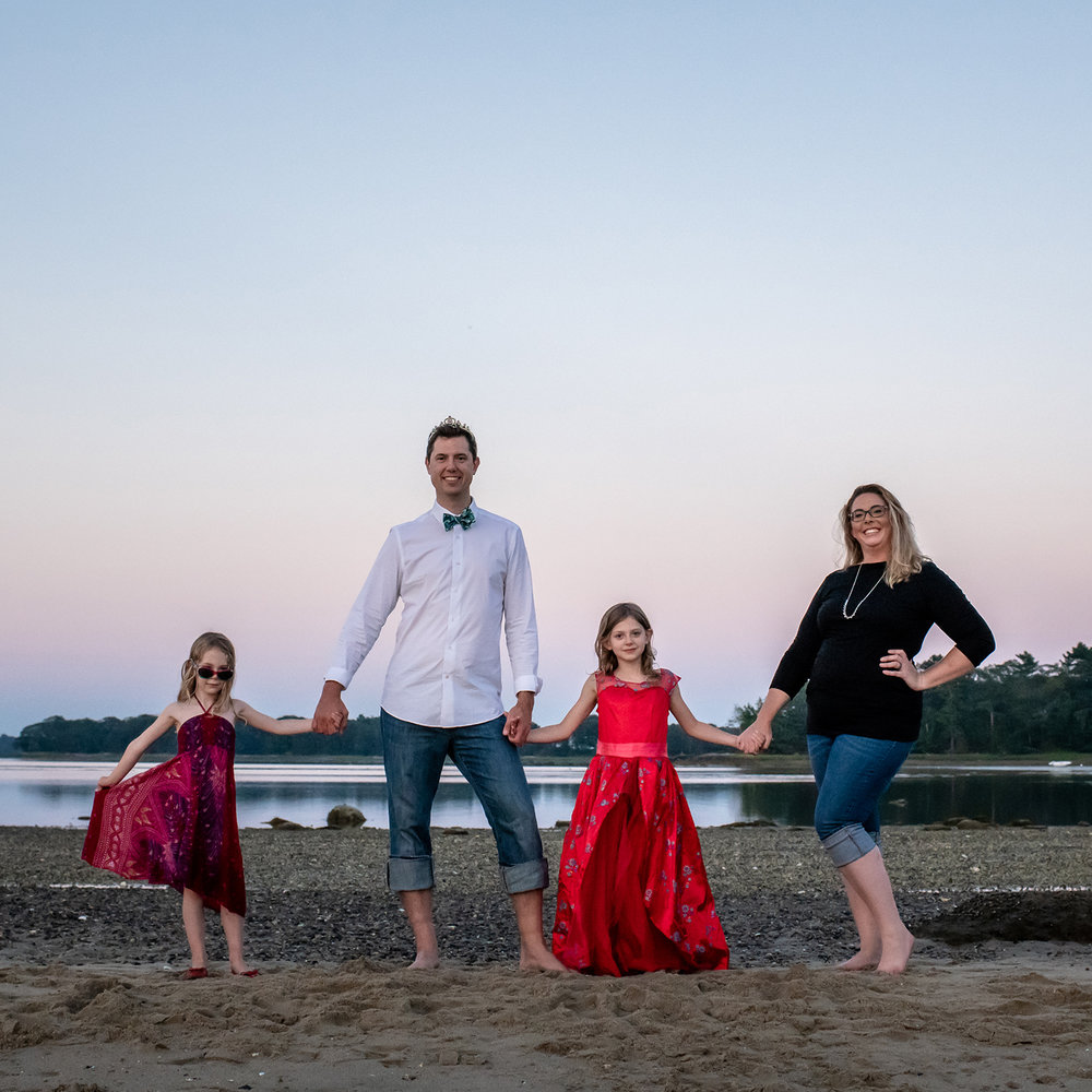 The Family - We are big on family! They are why we are who we are and a big part of our lives and business. We've had past clients recognize our kiddos before they even recognize us! They also help explain why there might be toys in our camera bag from time to time.