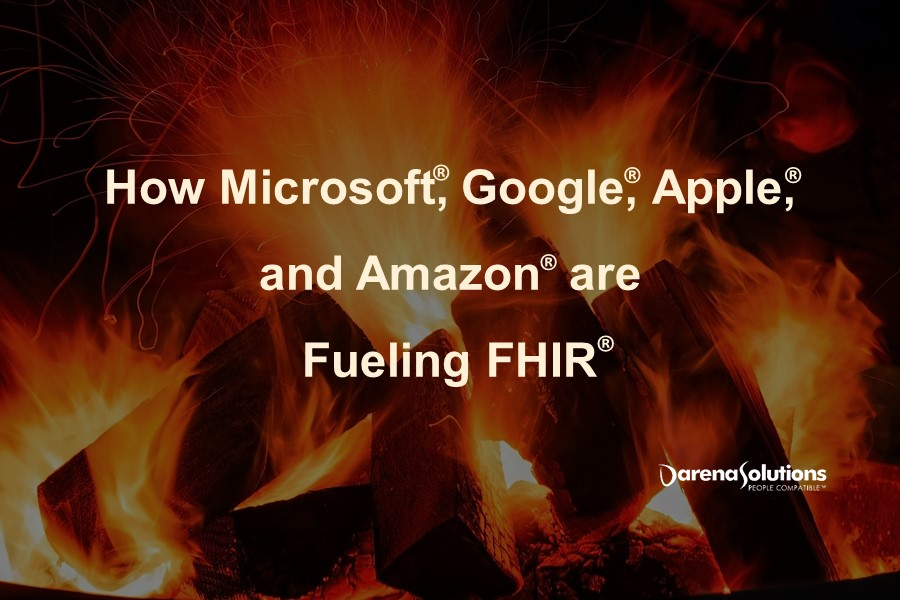 How Microsoft, Google, Apple, and Amazon are Fueling FHIR