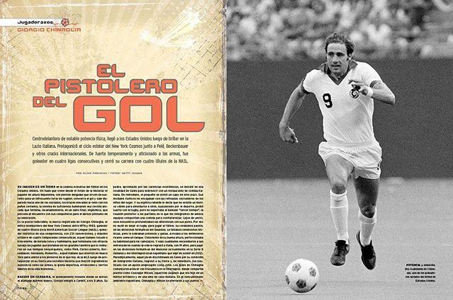 Giorgio Chinaglia, centrodelantero italiano que brilló en el New York Cosmos de Pelé, es el protagonista de la clásica sección #jugadorazos ⚽️🇮🇹 . . . . . . . . Encuentra la nota completa en el nuestra biografía  #mls #futbol #cosmos #pele #chinaglia #jugadorazos #gol #goleador #delantero #italia #concacaf