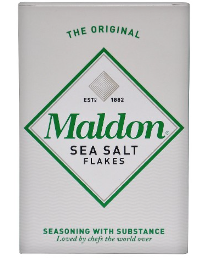 My go-to Flaky Sea Salt for finishing dishes -