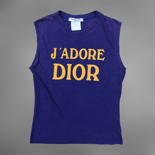 17c59a2edfc9fa Christian Dior J adore Dior Tank Top — sickboyarchive.