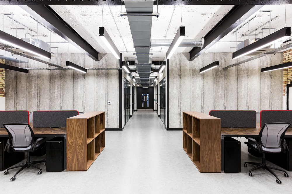 WORKSPACE. - Most of their properties tend to be either turn of the century or industrial buildings and the company's ethos is to retain their character and feel. Workspace has really embraced the contemporary design of their units and on the larger sites, they tend to use interior designers to carry their cool signature look all the way through.