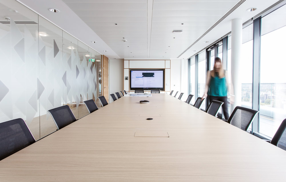 THE FIRST PHASE - For the first phase of the project and the fitout of the brand new extension space on the 15th floor, quality LED downlights with dropped glass were used as the main luminaire in circulation areas and corridors.