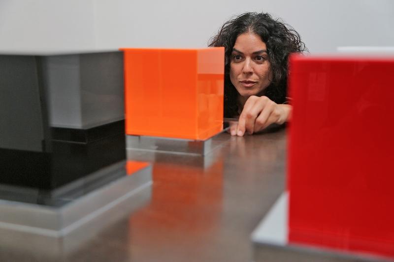 "JOIN ARTIST SHANA MABARI AT A RECEPTION FOR ""ILLUMETRIC"""