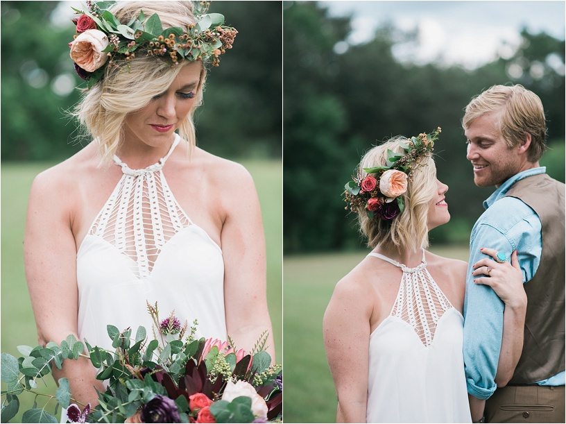 Bohemian Wedding | Hattiesburg MS | Megan Jolly Photography