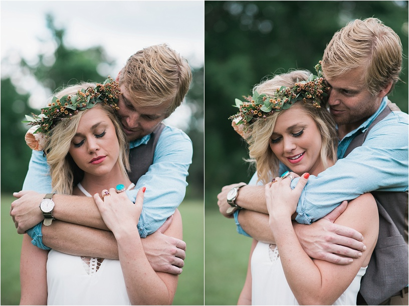 Bohemian Styled Wedding | Hattiesburg MS | Megan Jolly Photography