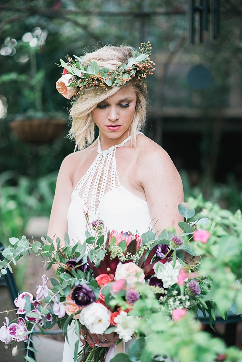 Bohemian Styled Wedding | Hattiesburg MS | Megan Jolly Photography