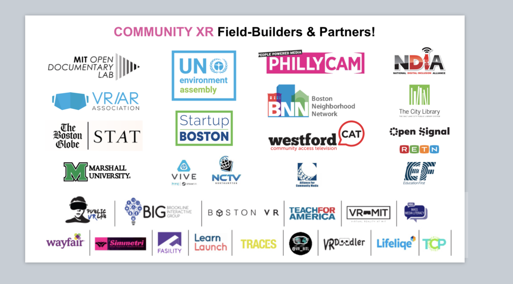Thank you to the support, partnership and collaboration of these organizations!
