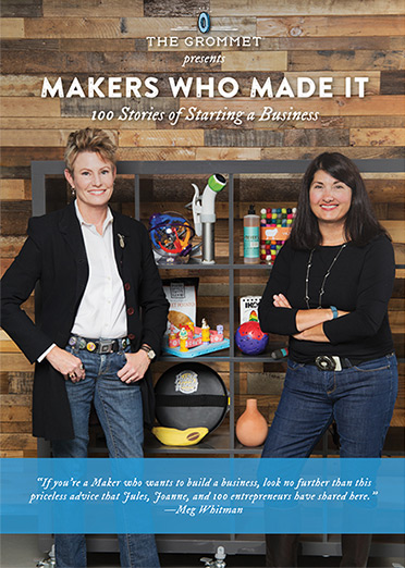 Makers Who Made It - The Grommet's free ebook from 2015 provides lessons and inspirations with interviews with 100 Makers, inventors, and entrepreneurs who launched products on The Grommet.