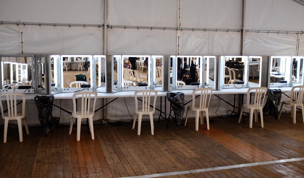 la glace maquillage Nestor location en tournage pour Vidocq