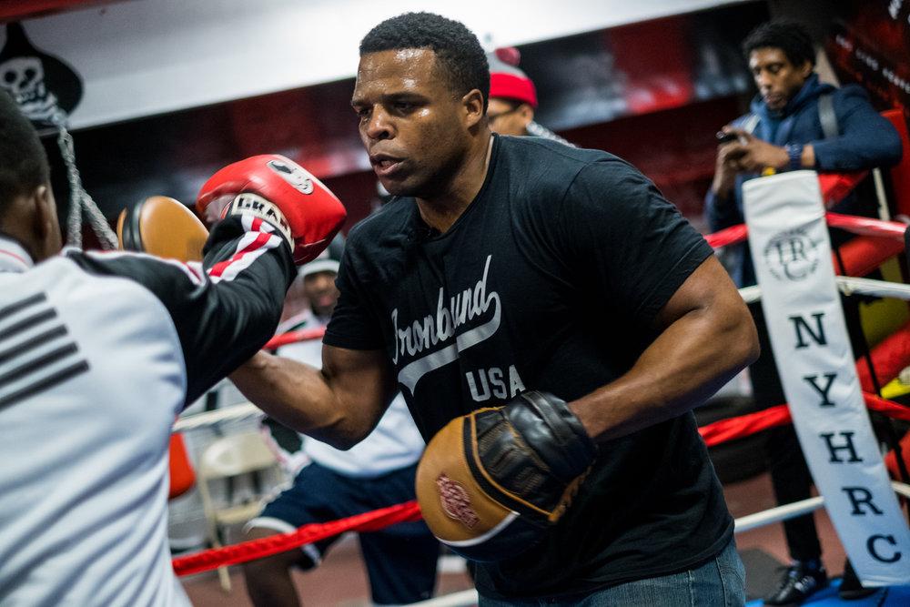Mike Steadman Boxing Bio Photo