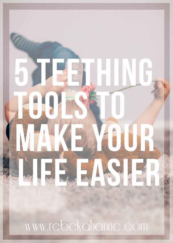 Are you fighting a teething baby or toddler? Having the right tools on hand will make all the difference. Click through to see my favorite products and routine to ease the pain for your kiddo!