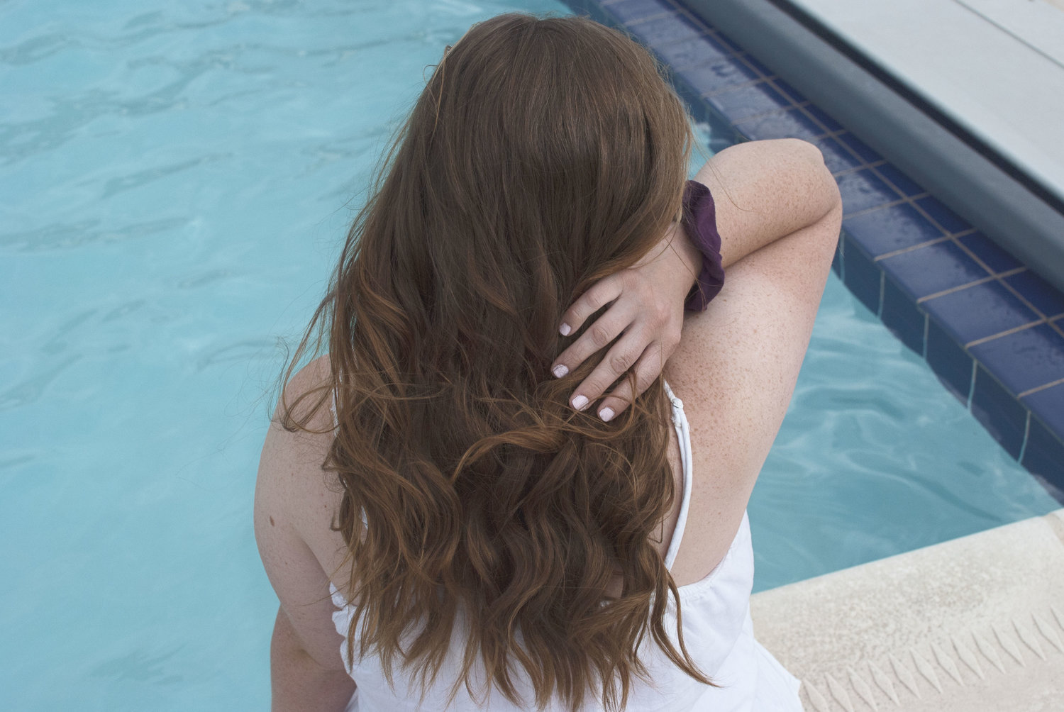 5 Essential Summer Hair Tips To Protect Your Hair From The Pool Rebekah Anne