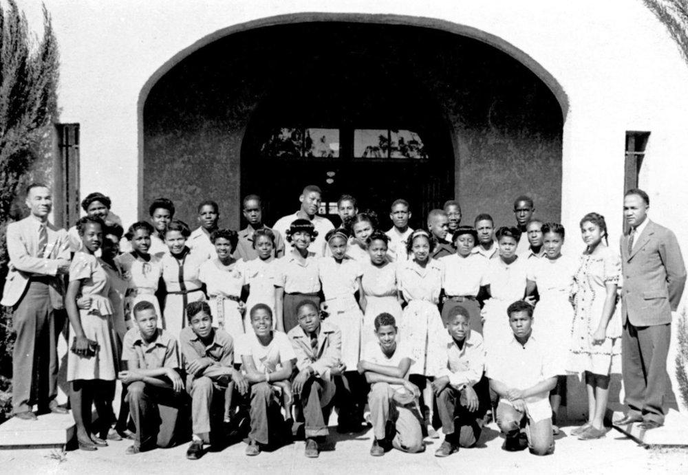 Dunbar Junior High School's class of 1946