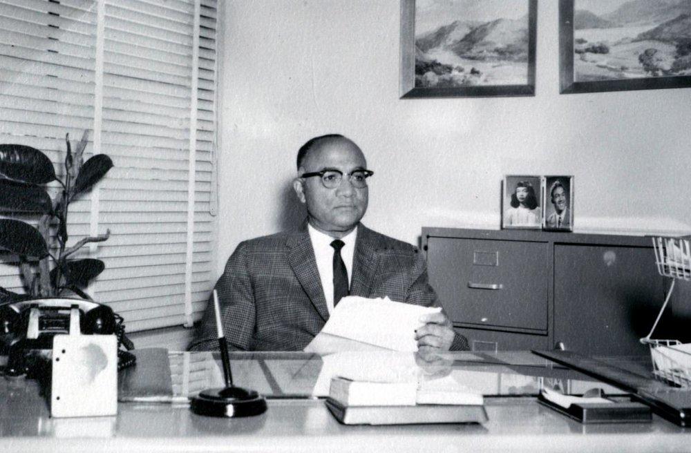 Morgan Maxwell Sr. Principal at Dunbar from 1940- 1969.
