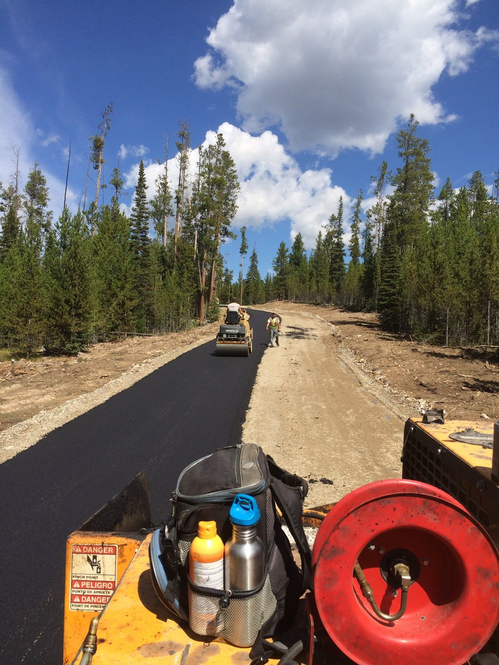 Bitterbush Trail Paving | Big Sky, MT