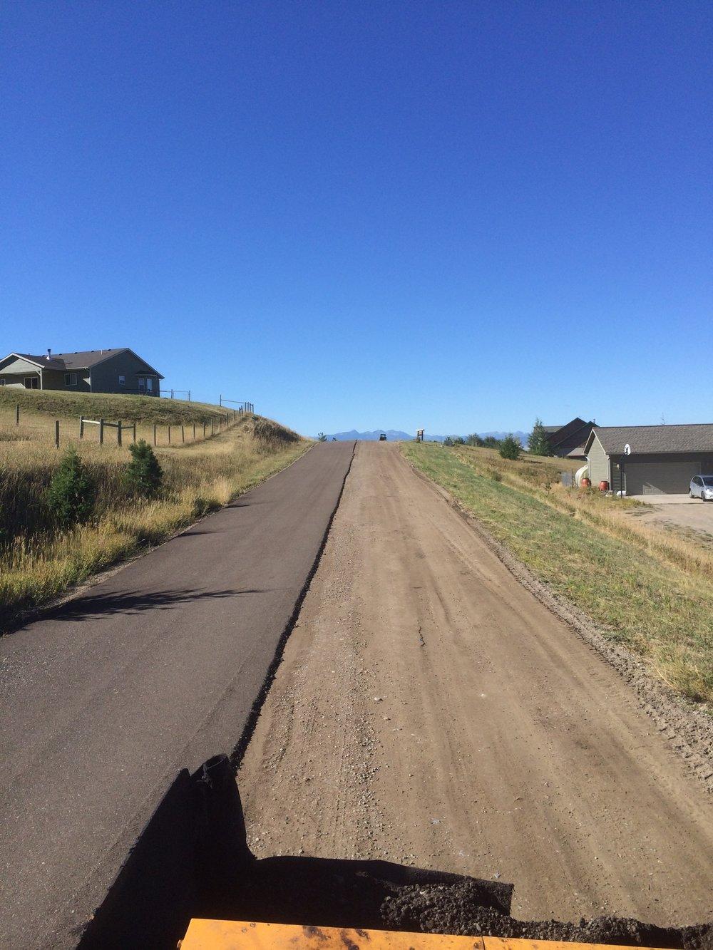 Grandview Heights Recycled Asphalt