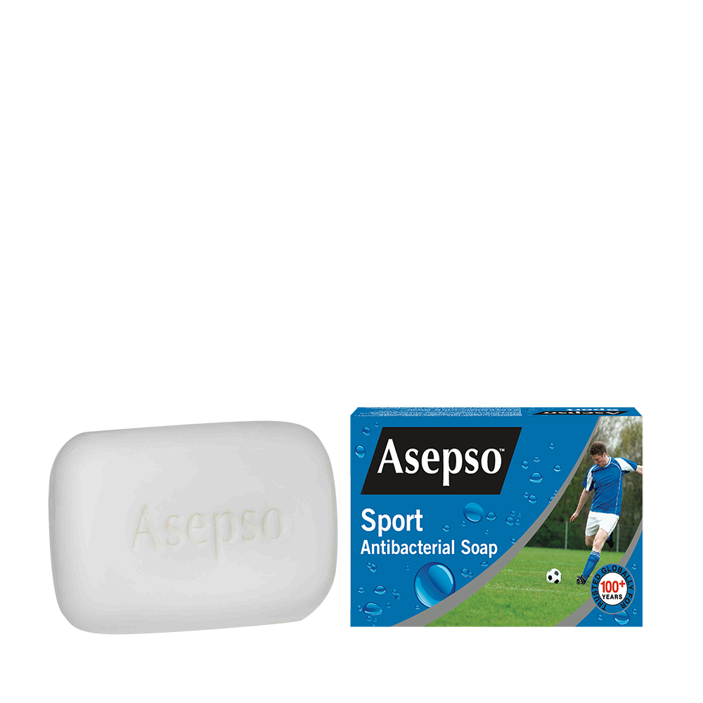 SPORT - It contains the effective deodorising and antibacterial ingredients specially designed for the active body.It gently removes germs, dirt and excess body oil leaving you fresh and clean with each wash.Available in 80G