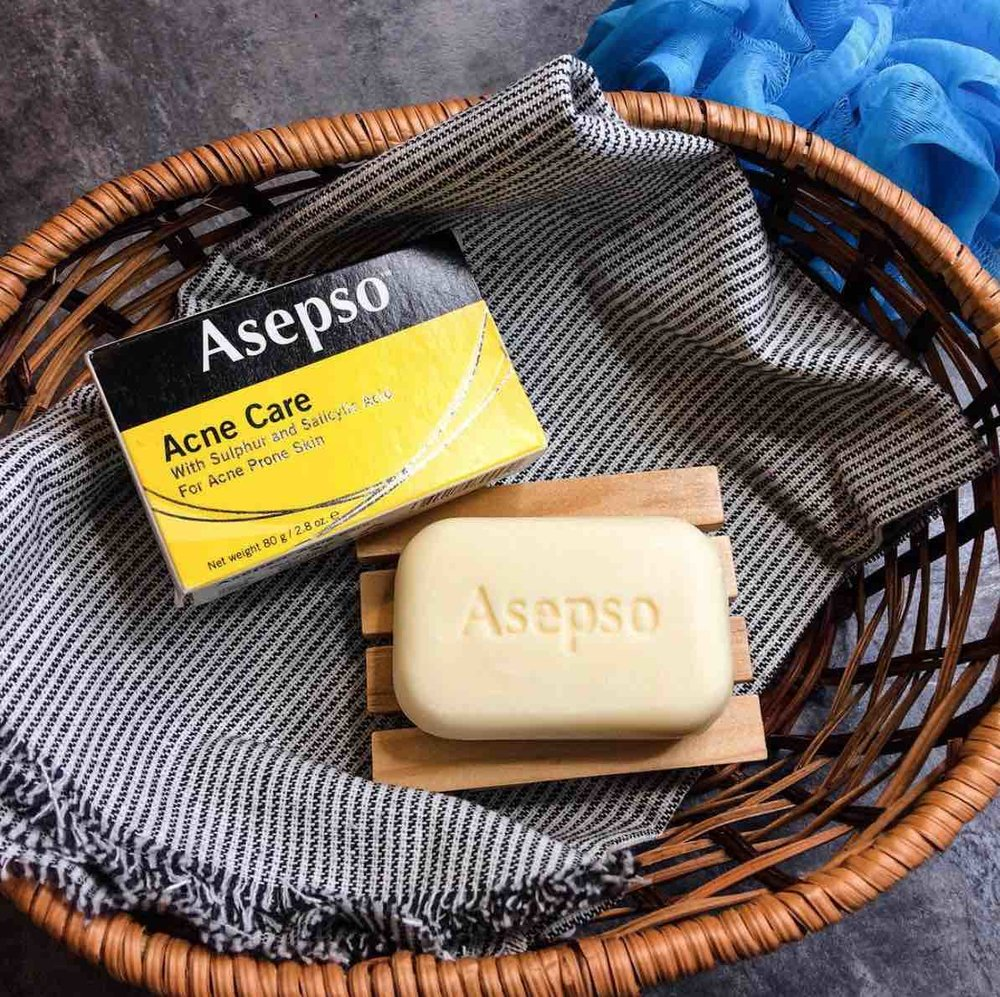 ASEPSO ACNE CARE BAR SOAP
