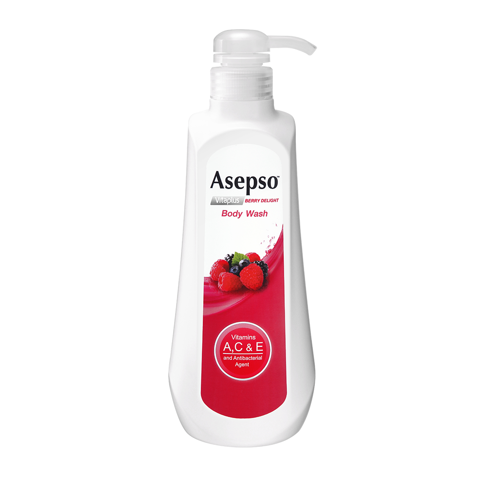 Berry Delight Body Wash - Vitamins A for anti-agingVitamin C to brighten skinVitamin E for nourishment and moistureFortified with Berry Extracts