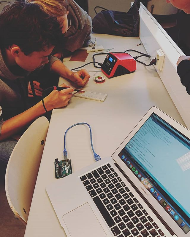 Learning how to solder