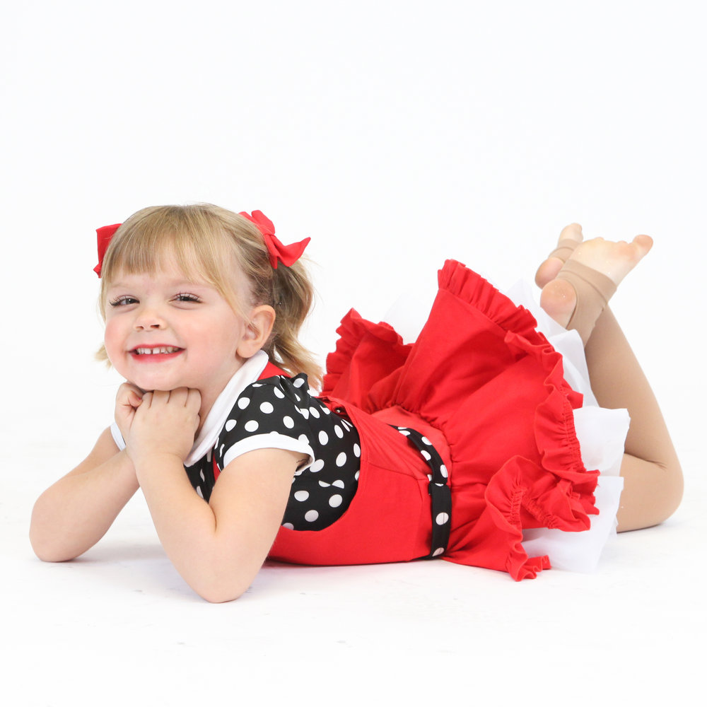 Mommy & Me - Ages 1-3. This 45-minute class combines creative movement and beginning dance and tumbling skills to get our littlest dancers prepared to take class on their own. With mom (or dad) at their side, we will work on improving motor skills, agility, rhythm & taking turns!