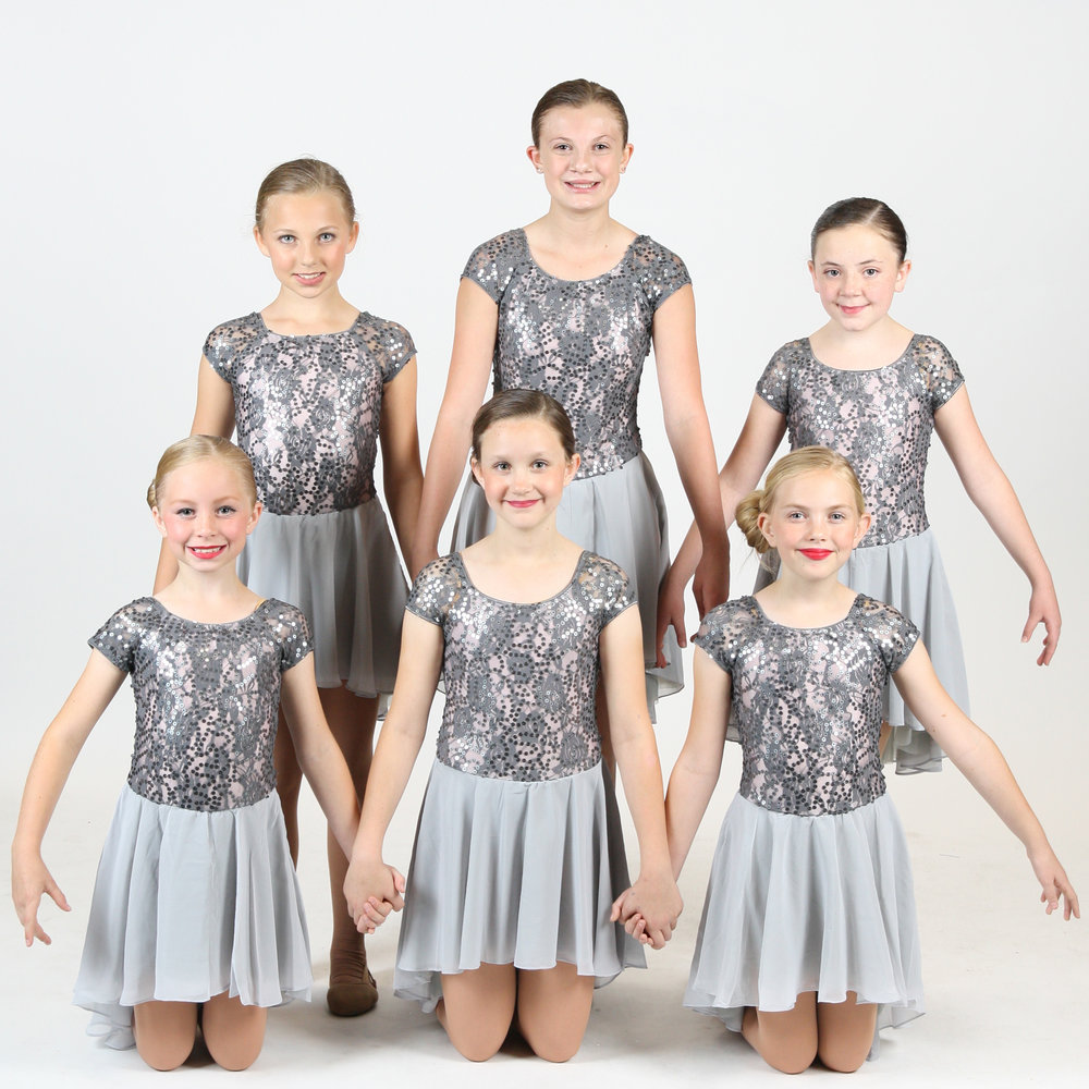 Contemporary - Ages 5+. Dancers will learn to express themselves and improve their musicality while blending ballet technique with modern movement.