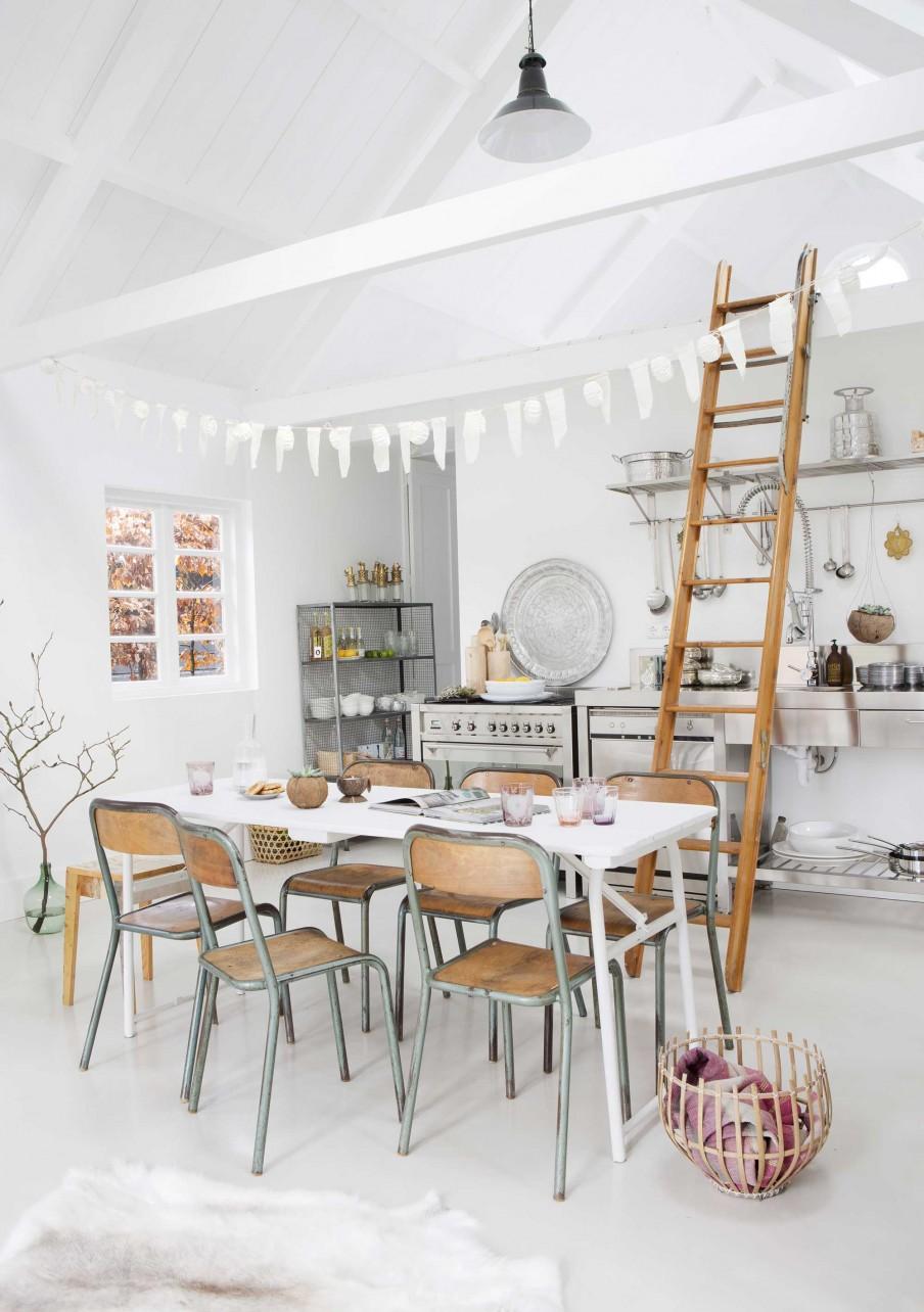 4-keuken-hout-ladder