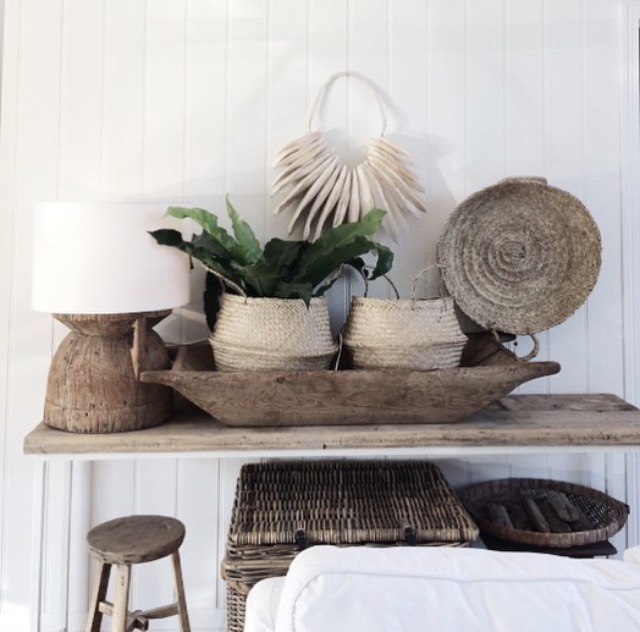 In this House of Instagram Michelle shows us how to use natural materials such as linen and weathered wood and transform a space into a tranquil retreat. The lack of clutter and the beautiful light create a sense of space.