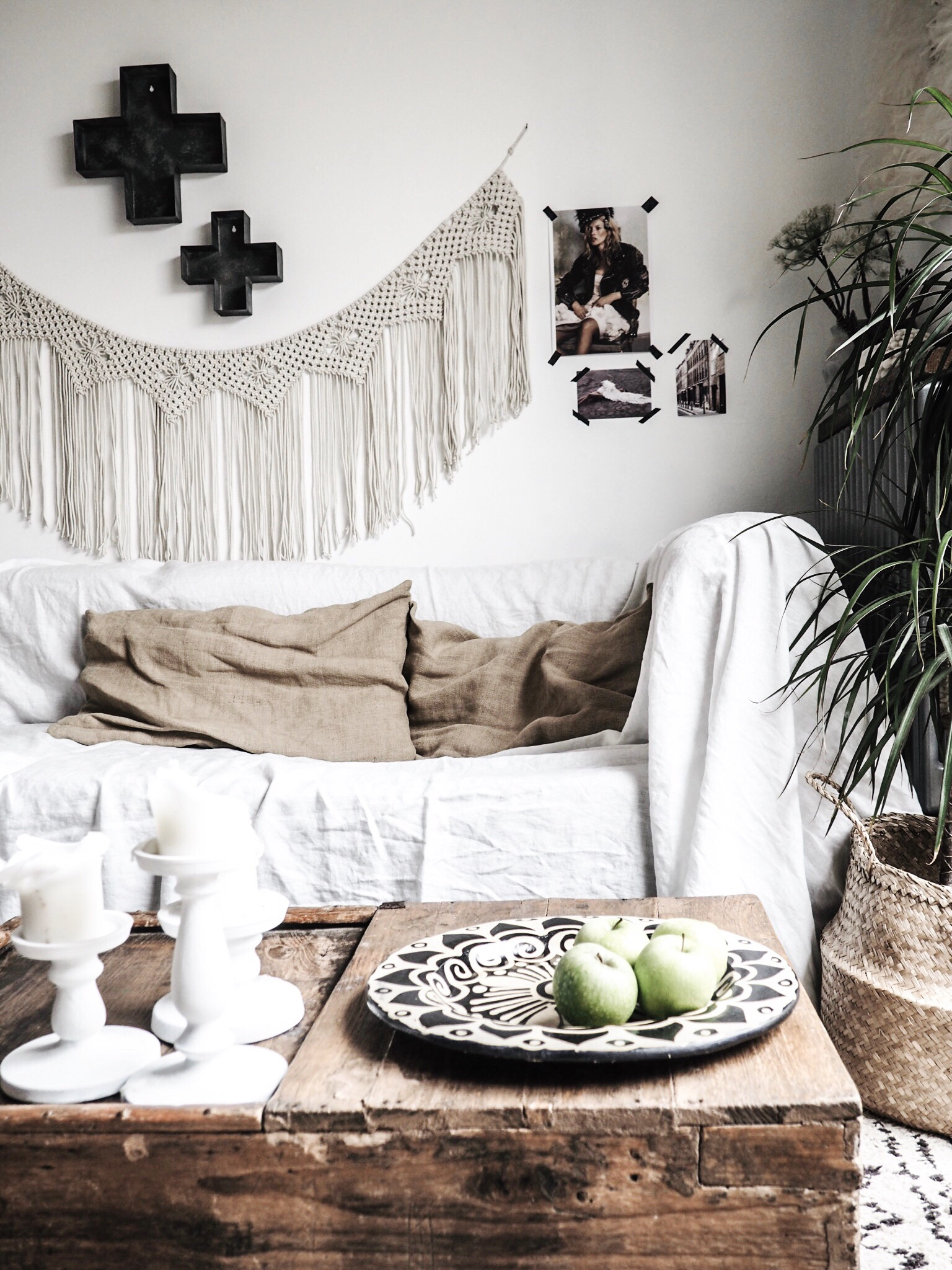 Create the Scandi Boho look with individually crafted products from Heartisania.com.