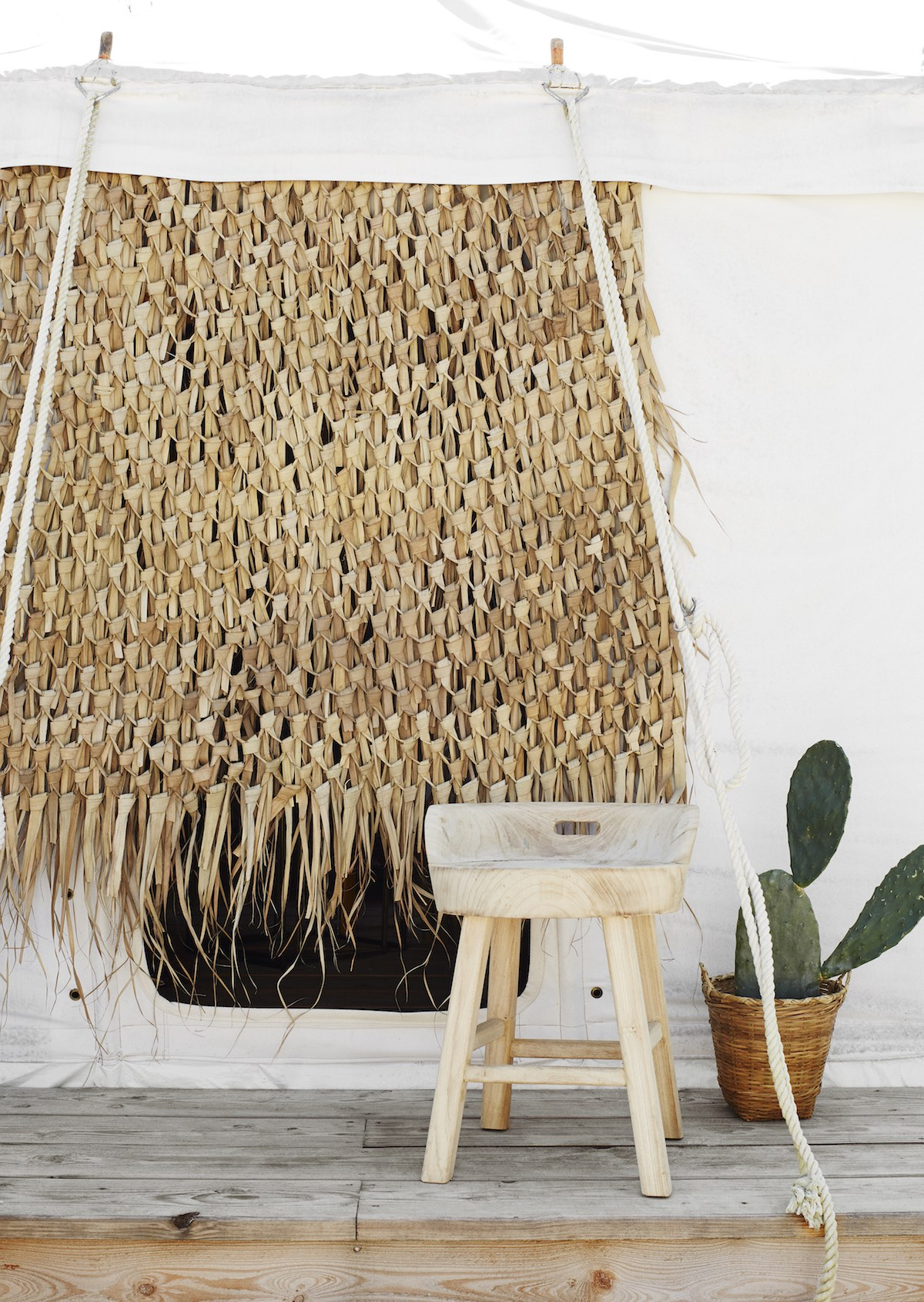 Wonderful boho vibes in the latest collection from danish homeware brand Madam Stoltz.