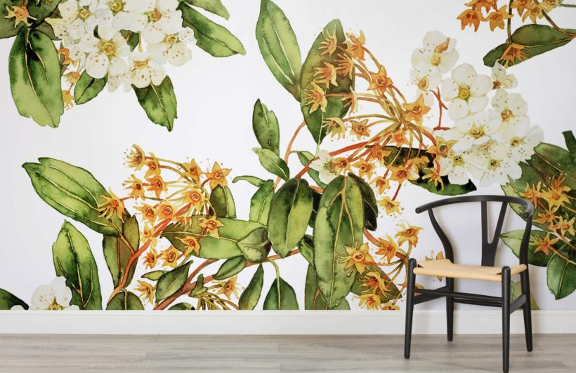 Top 10 wallpapers...Striking floral wallpaper can add interest,colour and nostalgia to even the smallest of spaces.